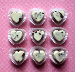 Peanut Butter Oreo Chocolates by claremanson