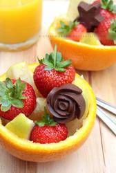 Cheeky Summer Fruit Salad by claremanson