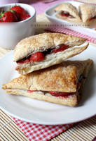 Strawberry and Nutella Turnovers (+recipe) by claremanson