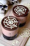 Halloween Cheesecake by claremanson
