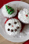 Christmas Cupcakes by claremanson