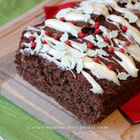 Peppermint Chocolate Cake by claremanson