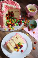 Pinata Cake Slice by claremanson