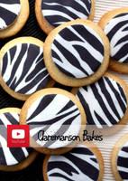 Zebra Cookies by claremanson