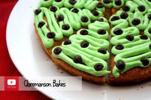 Christmas Tree Cake Slices (+recipe) by claremanson
