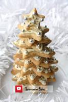 Sugar Cookie Xmas Tree (+YouTube Recipe) by claremanson
