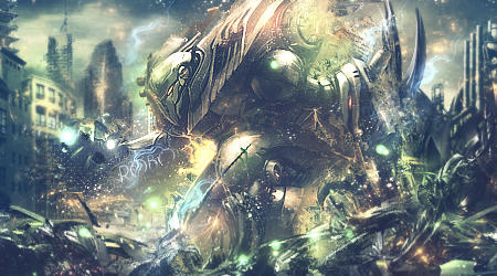 fantasy robot by WonderPan1c