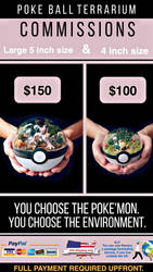 Poke Ball Commissions - Info and Prices by TheVintageRealm