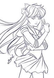 Sailor Guardian Venus by AliZS1