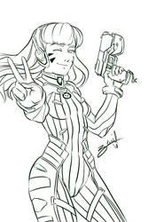 Dva Sketch by AliZS1