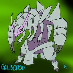 Pokemon of the Week #5 - Golisopod by SpiralGenie