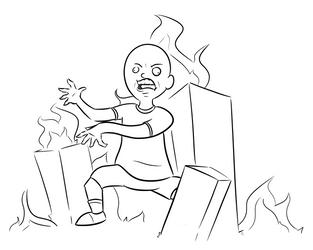 Kayloo Blows Up Da City by SpiralGenie