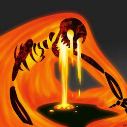 Volcano by SpiralGenie