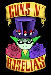 Guns N' Roselias by JHALLpokemon