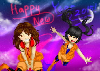 Happy New Year 2015 - Landscape by CC-0w0