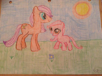 Sisters forever by Flowerpony13