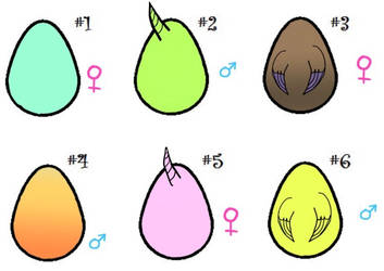 Mystery mlp egg adopt  by Flowerpony13