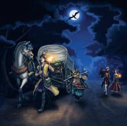Dragon Quest VIII: Caravan by squidbunny