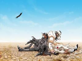 NTO: Bad Guys, Bad Land by squidbunny