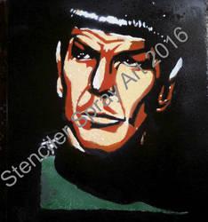 Mr Spock by ModokSprayArt