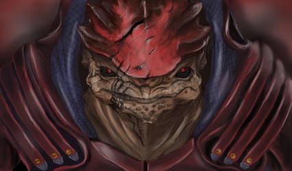 Mass Effect - Wrex by ItzAmandaYay