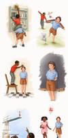Network BBDO Illustrations by WarrenLouw