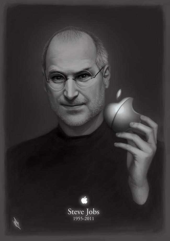 Steve Jobs 1955-2011 by WarrenLouw
