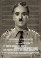 Charlie Chaplin - Let Us All Unite by WarrenLouw
