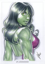 She Hulk by WarrenLouw