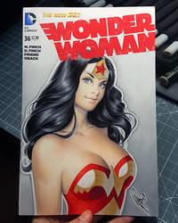 Wonder Woman by WarrenLouw