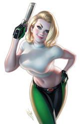 DangerGirl #1 Gallery Edition by WarrenLouw