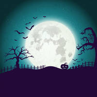 Halloween Background 3 by anitess