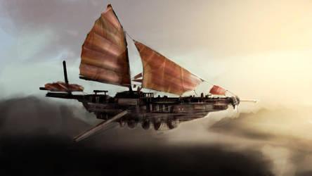 Flying Ship by cmwelsh89