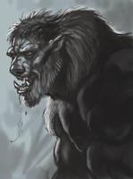 Werewolf by sykohyko