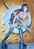spanish Dorna the  painting.. by gunman
