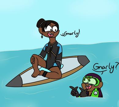 Gnarly Bae! by Skylar2281