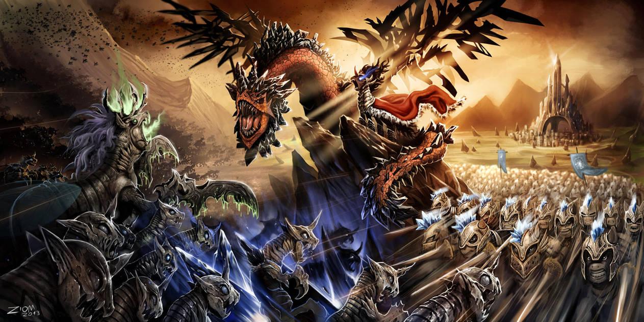 War Of The Equestria By Ziom05 On Deviantart