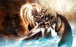 Diablo 3 Anniversary - Inarius and Lilith by Ziom05