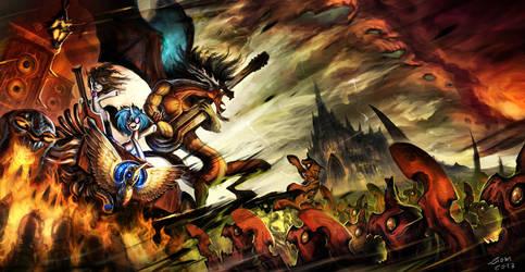 Heavy Metal Ponies by Ziom05