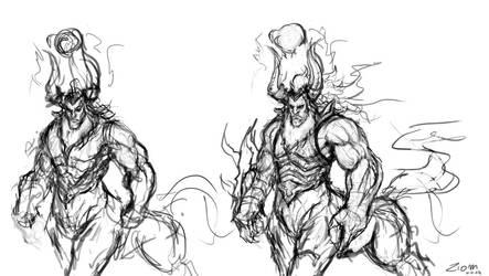 Tirek's Sketch by Ziom05