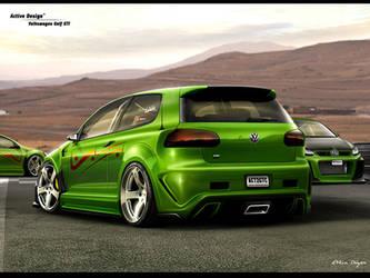 Volkswagen Golf GTI by Active-Design