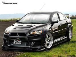 Mitsubishi Lancer Evolution X by Active-Design