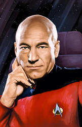 Captain Jean-Luc Picard by Blind-Leviathan
