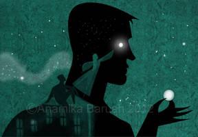 Neil Gaiman's American Gods Fan Art by AnamikaB