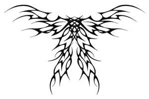 Tribal Butterfly by XResch
