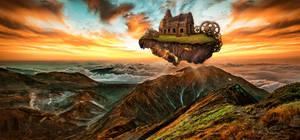 Floating Island by XResch