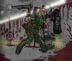 Doomguy - Special HD Remastered Edition by DeanLeoWinchester