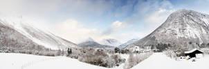 Valldal VIII - Winter by Kvikken