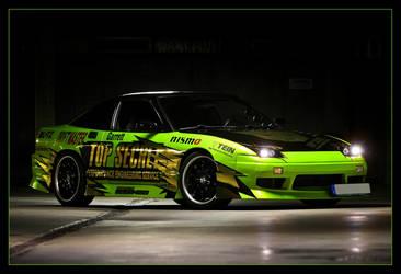 Top Secret Nissan S13 by Caliart
