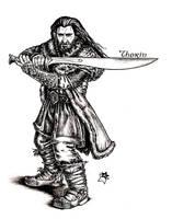 Thorin Oakenshield by Anastina91